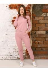 Спортивный костюм, розовая пудра (арт. 12РОП/КЖ)