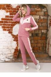 Спортивный костюм, розовый (арт. 17РО/КЖМ)