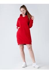 Худи- оверсайз, красный (арт. 19КР/ПЛХ)