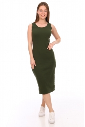 Платье-майка, хаки (арт. 20ХА/ПЛМ)