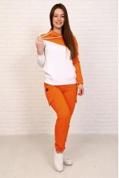 Спортивный костюм, оранжевый (арт. 19ОР/КЖКЛ)